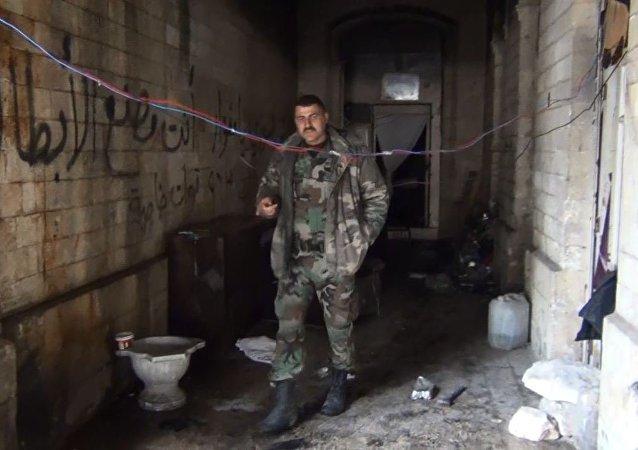 عسكري سوري يكشف سر صمود قلعة حلب أمام الإرهاب