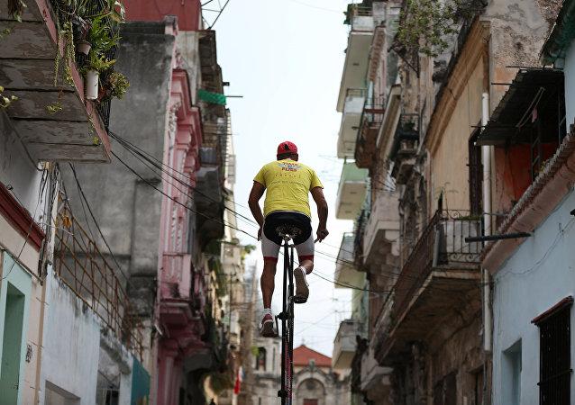 الدراجة الشاهقة