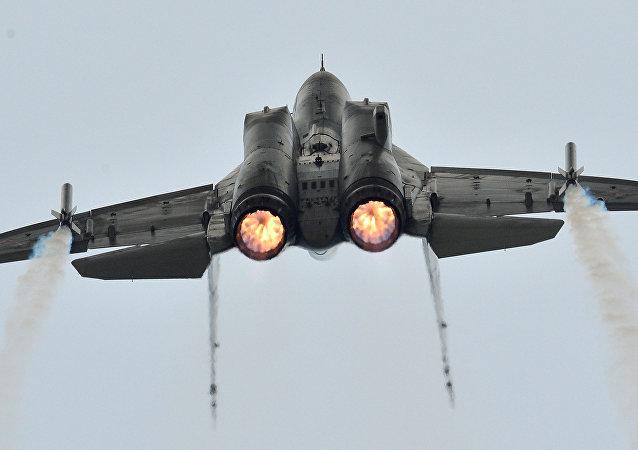 صورة تعبيرية أرشيفية لمقاتلة ميغ-35