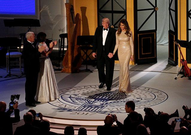 حفل تنصيب دونالد ترامب رئيسا للولايات المتحدة الأمريكية