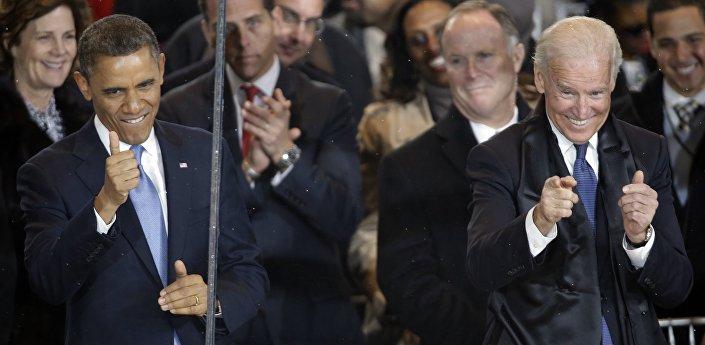 مراسم تنصيب باراك أوباما رئيسا للولايات المتحدة في 01/01/2013