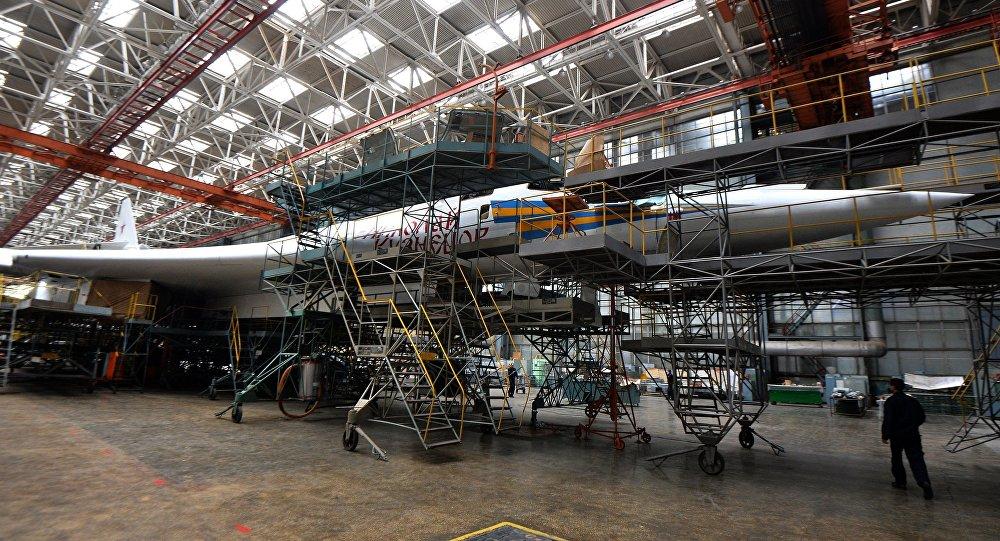 مصنع الطائرات في مدينة قازان