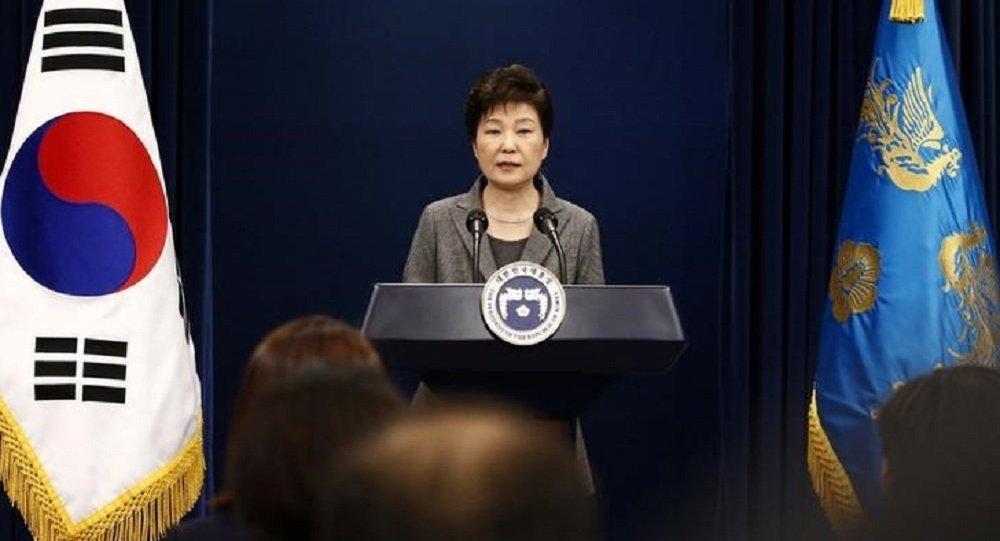 رئيسة كوريا الجنوبية