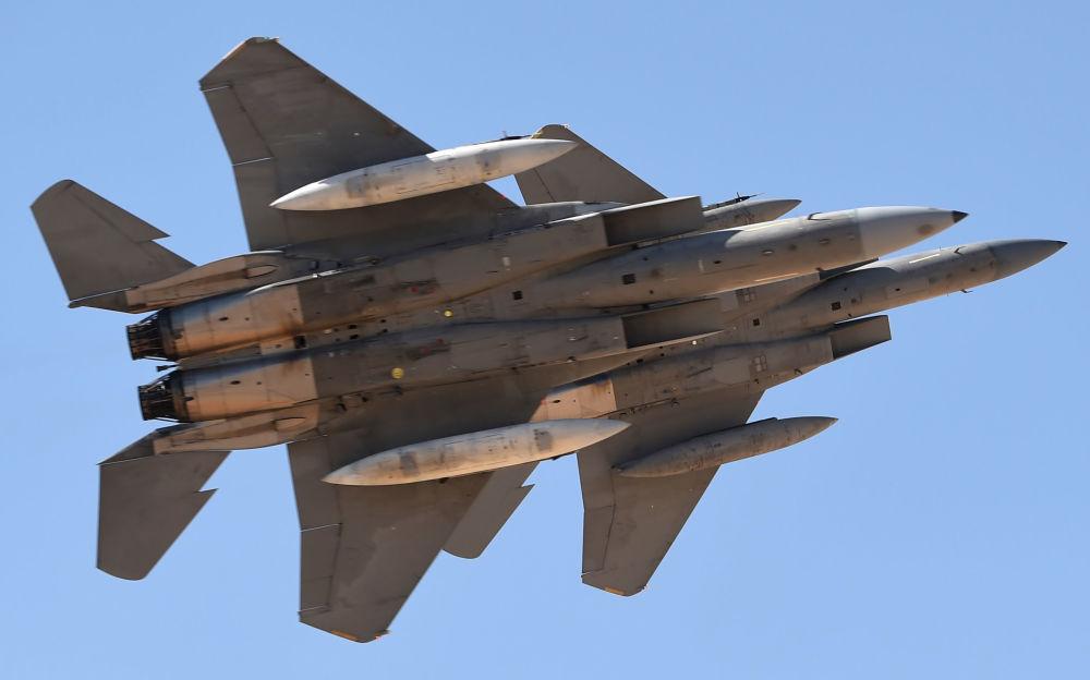الطائرة f-15sa التي اشترتها المملكة حديثا