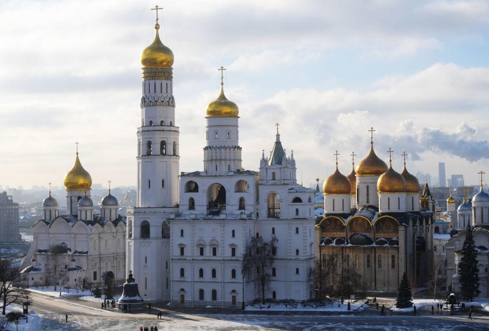 كنائس موسكو في حرم الكرملين