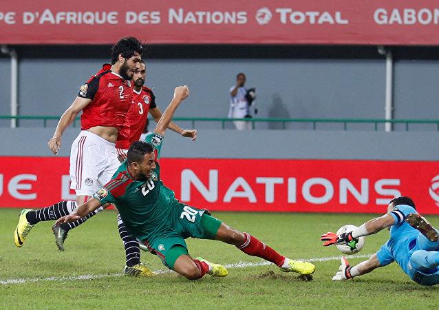 مباراة منتخب مصر والمغرب