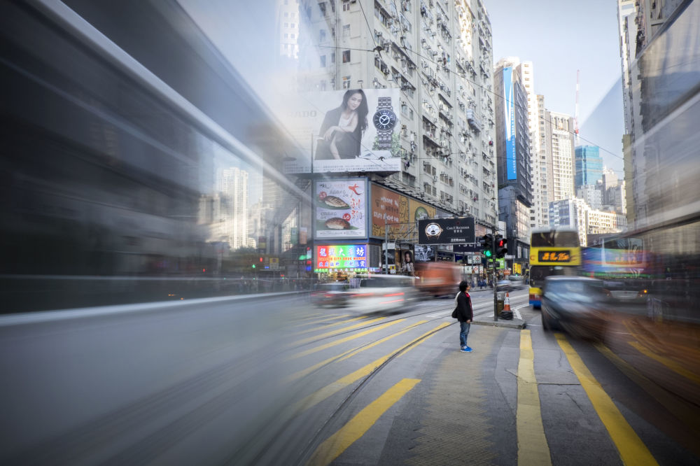 حركة المرور في سوغو، هونكونغ - للمصور توبي ترومان المشارك في مسابقة National Geographic Traveller-2017