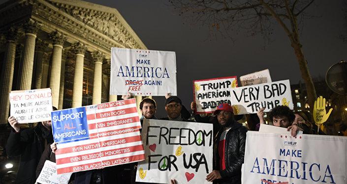 مظاهرات في الولايات المتحدة