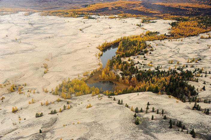 شارا الرمال، كراي عبر البايكال