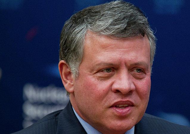 الملك الأردني عبد ألله الثاني