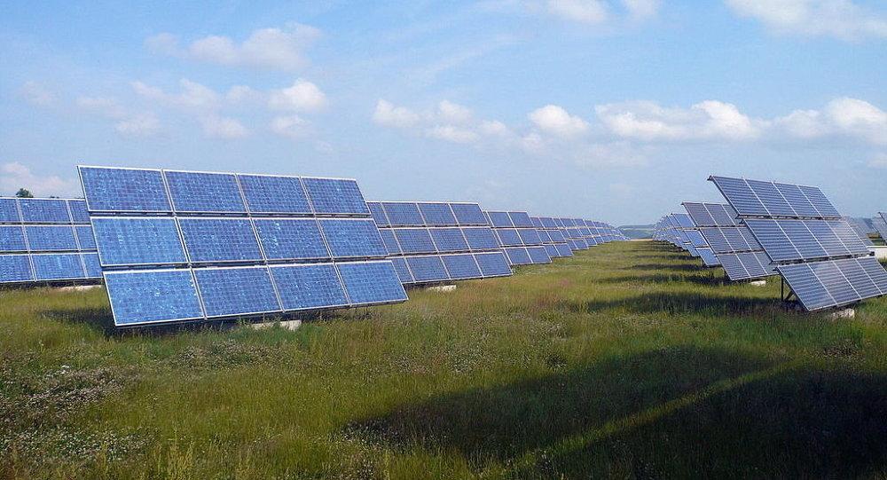 كهرباء بالطاقة الشمسية