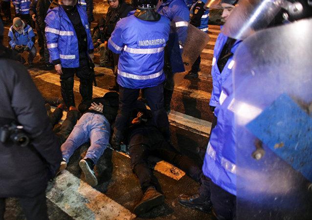 احتجاجات حاشدة في رومانيا - بوخارست