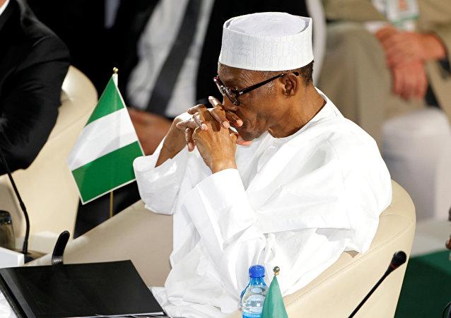 رئيس نيجيريا محمدو بوهاري