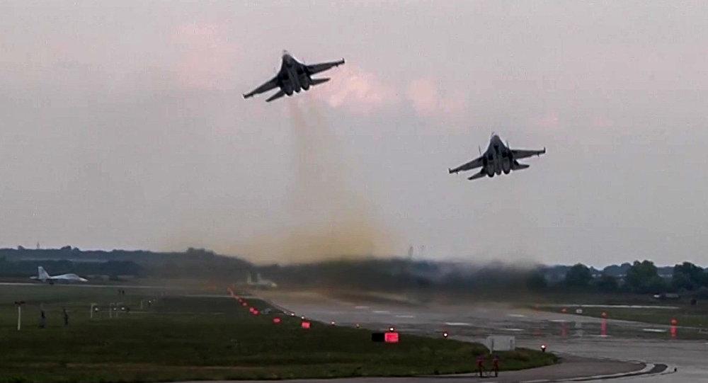 طائرتان تابعتان لسلاح الجو الروسي