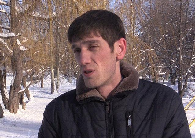 شاب روسي من القوقاز ينقذ طفلة من بيدوفيل