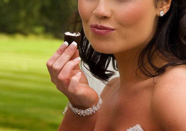 تذوق الشوكولاتة
