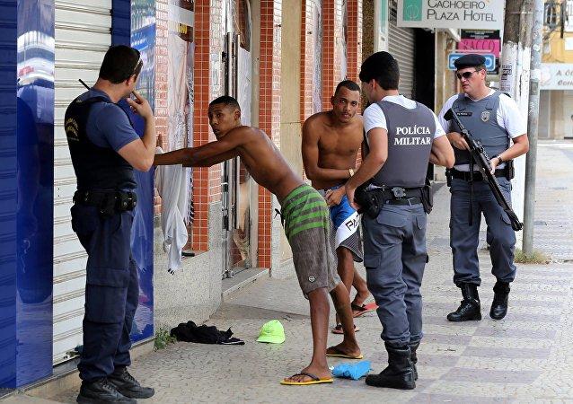 أعمال عنف في البرازيل