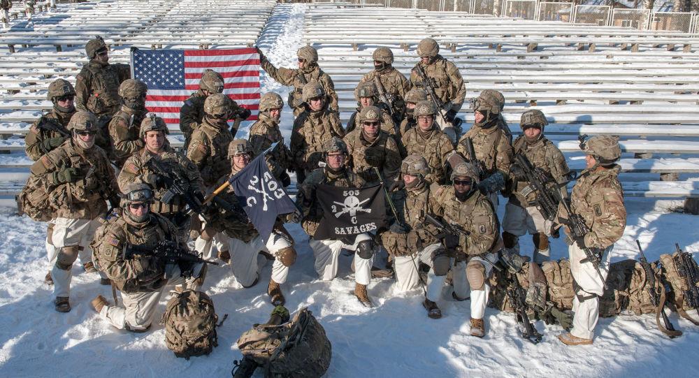 عرض عسكري لقوات الناتو في لاتفيا