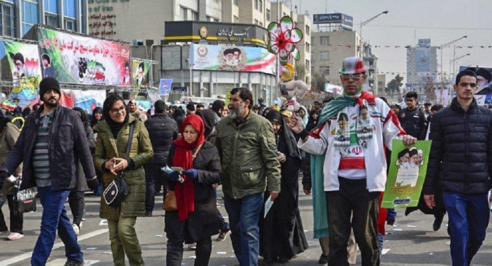 مسيرات في إيران