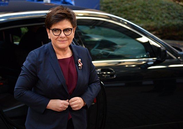 رئيسة الوزراء البولندية