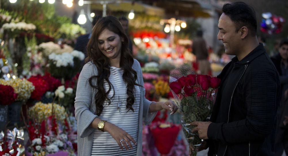 يوم الفالنتاين في إسلام آباد، باكستان