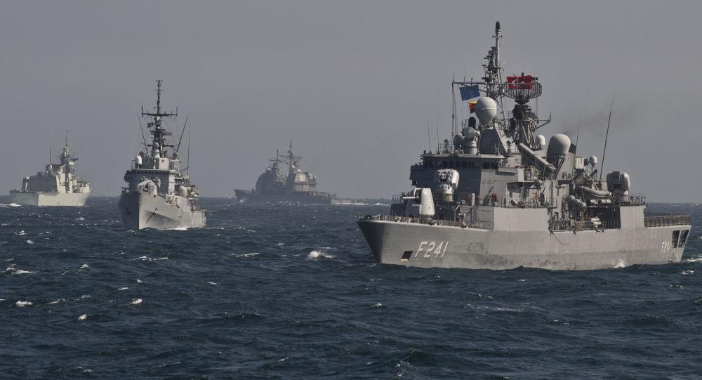 سفن الناتو في البحر الأسود