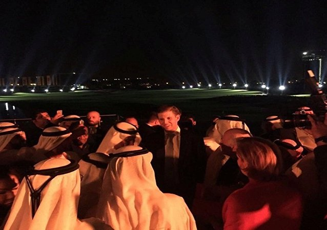 ابنا ترامب في دبي