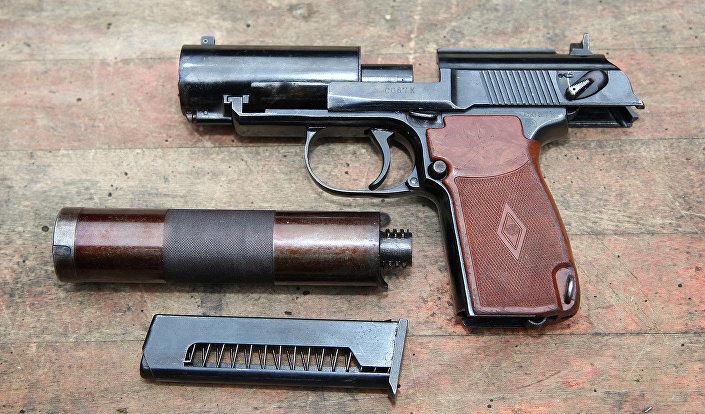 مسدس ديرياغن الصامت