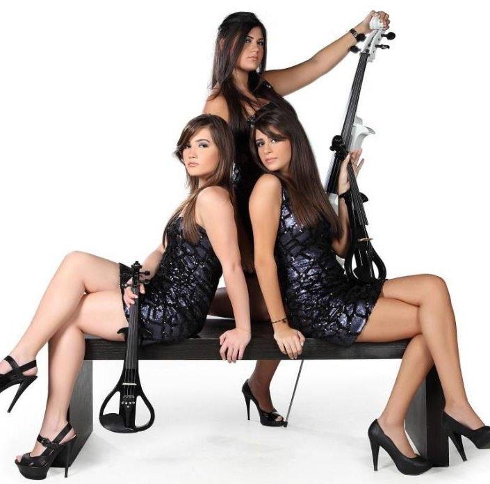 فرقة تشيللو جيرلز اللبنانية