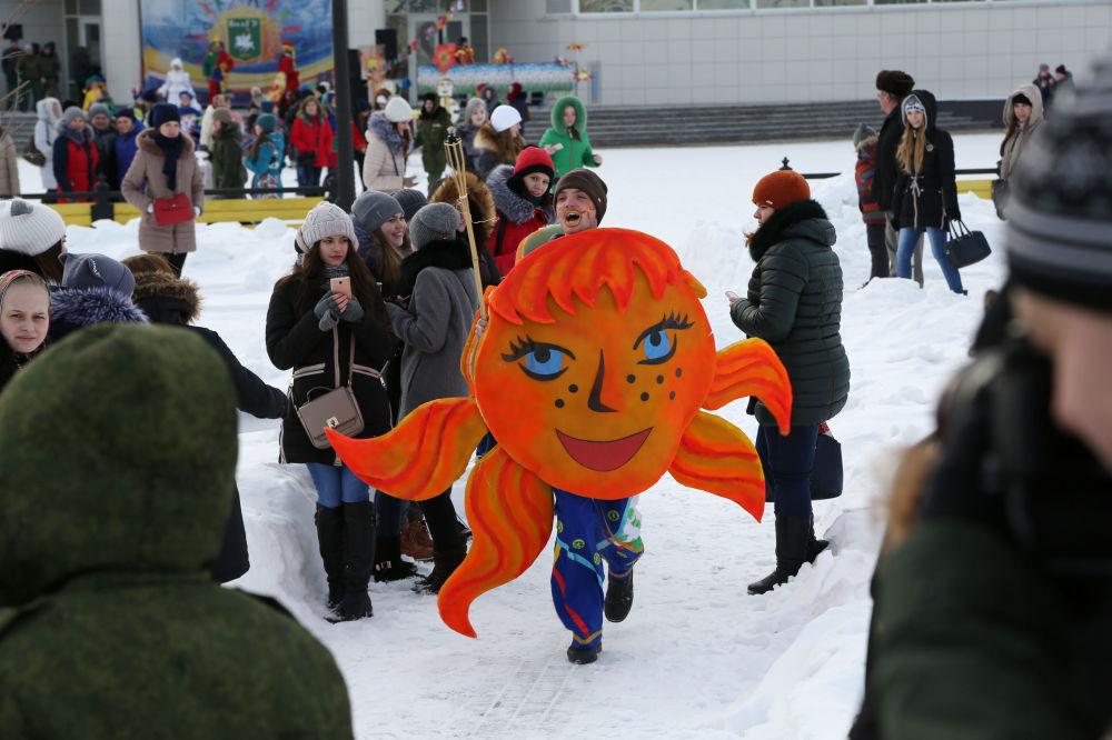 بدء مهرجان ماسلينيتسا في بيلغورود