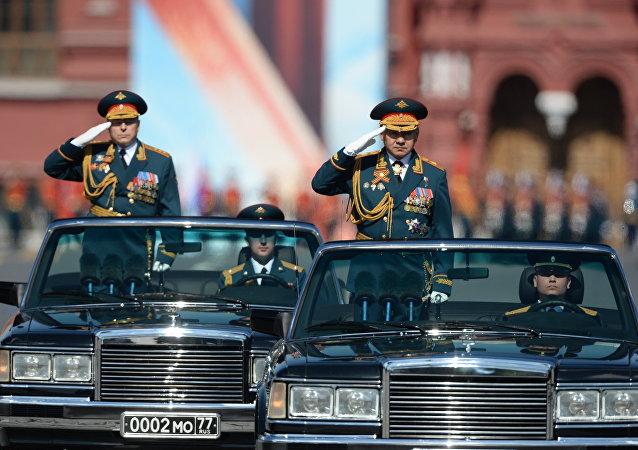 وزير الدفاع الروسي سيرغي شويغو