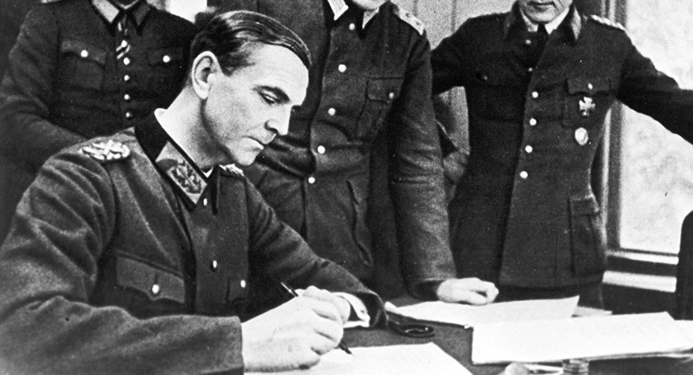 قائد الفيلق السادس لقوات النخبة النازية، المارشال فريدريك باولوس