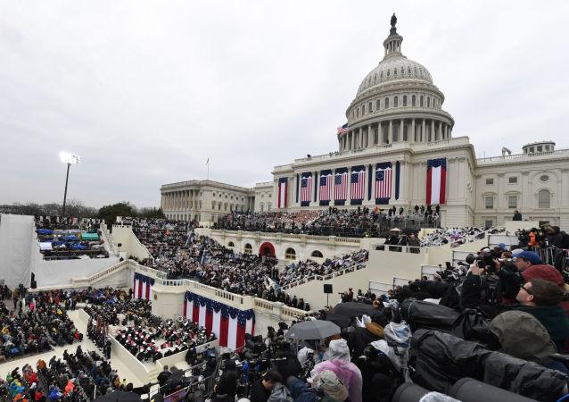 حفل تنصيب ترامب رئيسا للولايات المتحدة