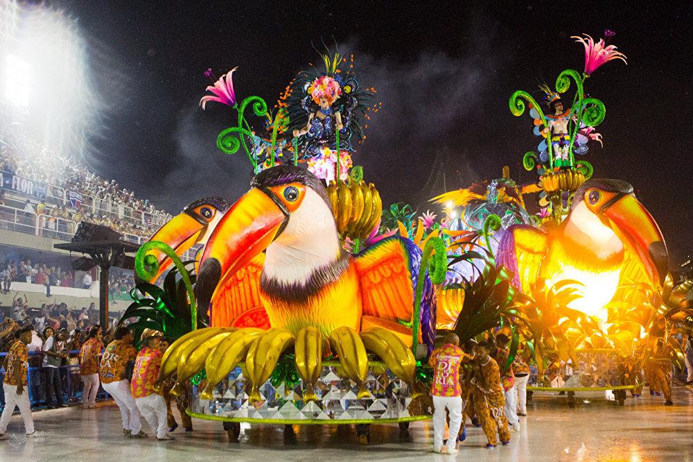 كرنفال ريو دي جانيرو لعام 2017، البرازيل