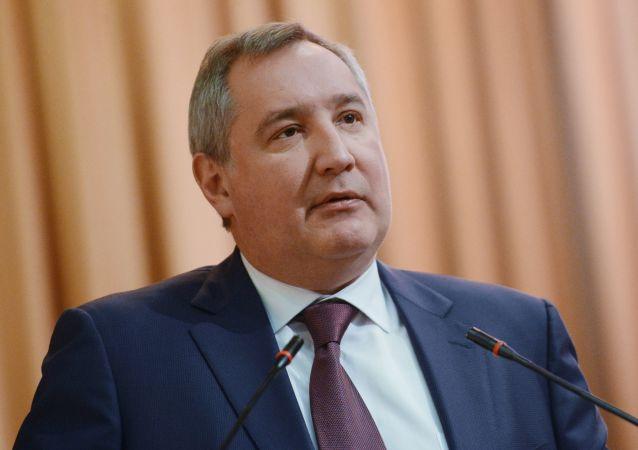 نائب رئيس الوزراء الروسي دميتري روغوزين