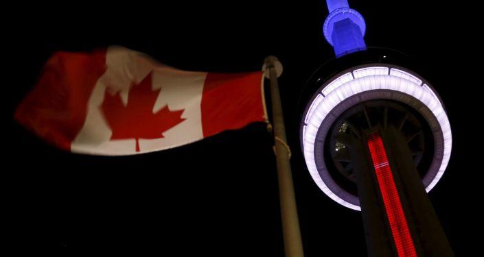 برج سي إن في مدينة تورونتو الكندية
