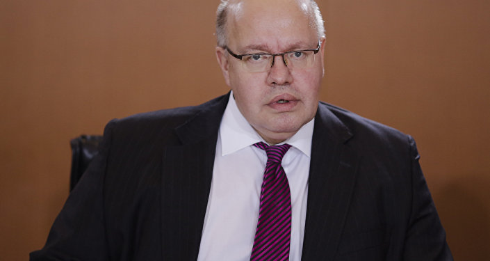 Peter Altmaier, Head of the Chancellery and German Minister for Special Tasks.