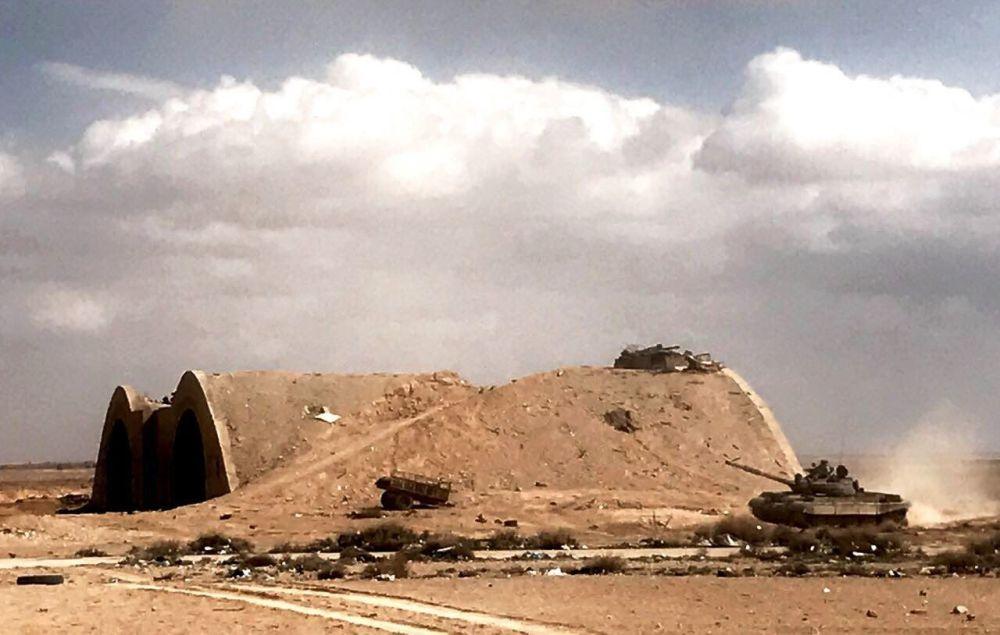 مدينة تدمر بعد تحريرها