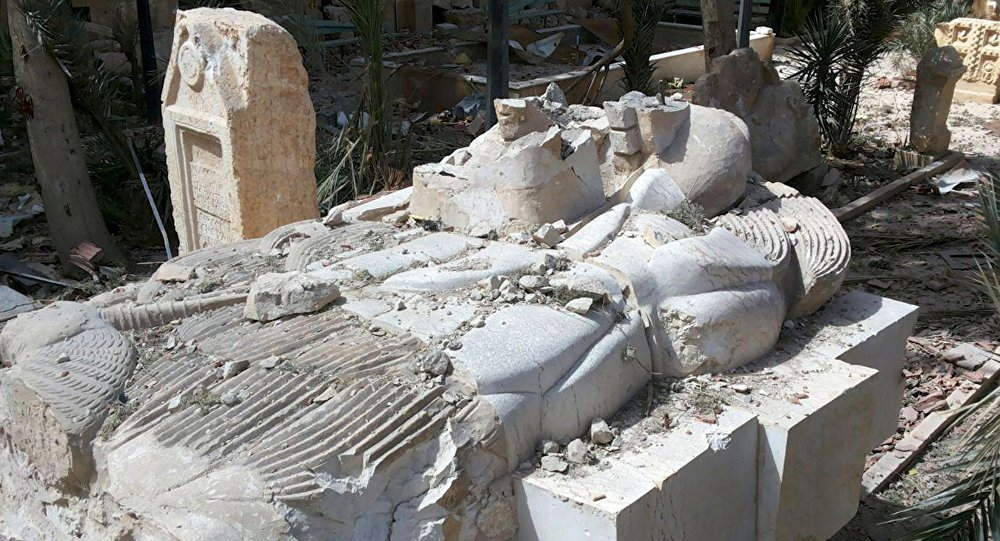تمثال آشوري