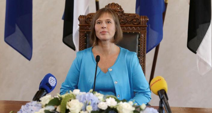 رئيسة إستونيا
