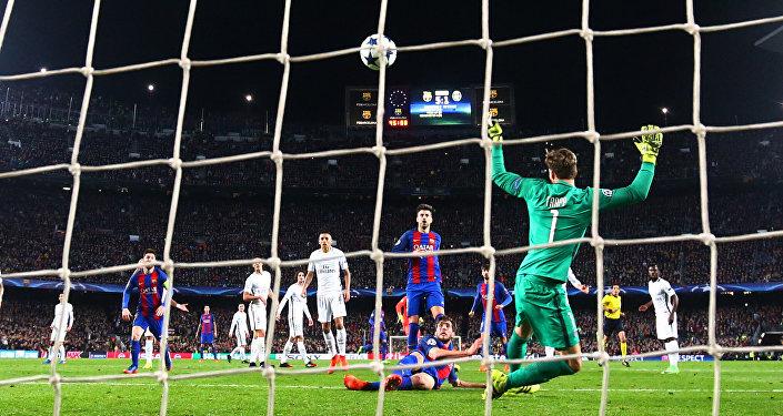 هدف برشلونة