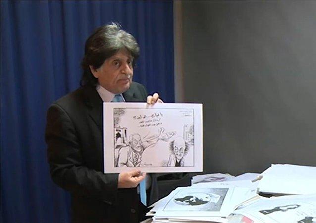 رسام الكاريكاتير اللبناني الراحل ستافرو جبرا