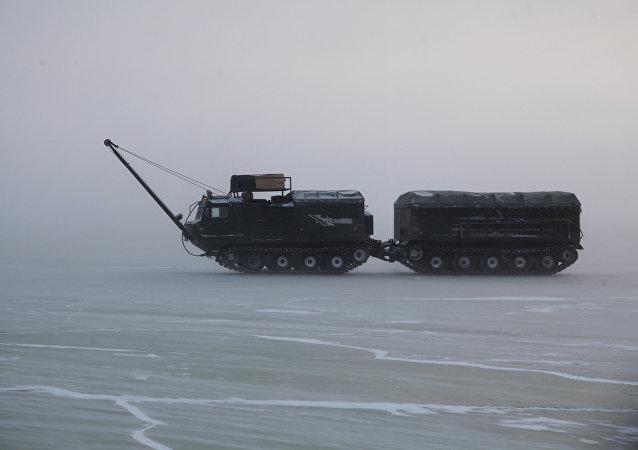 اختبار أسلحة جديدة في القطب الشمالي