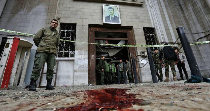 تفجير إرهابي بالعاصمة السورية دمشق (صورة أرشيفية)