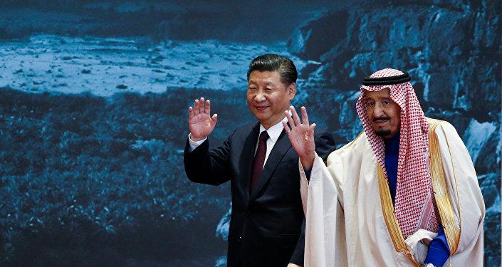 الملك سلمان والرئيس الصيني
