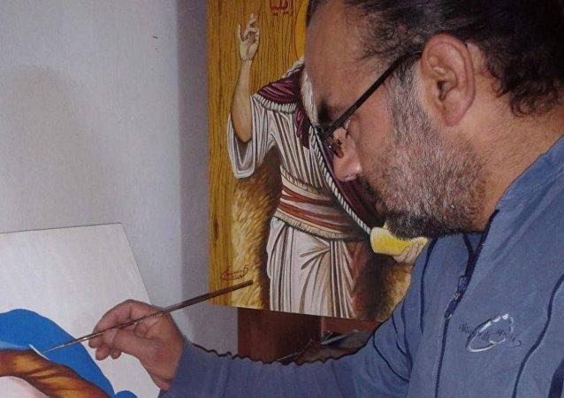 فريد وسوف فنان سوري