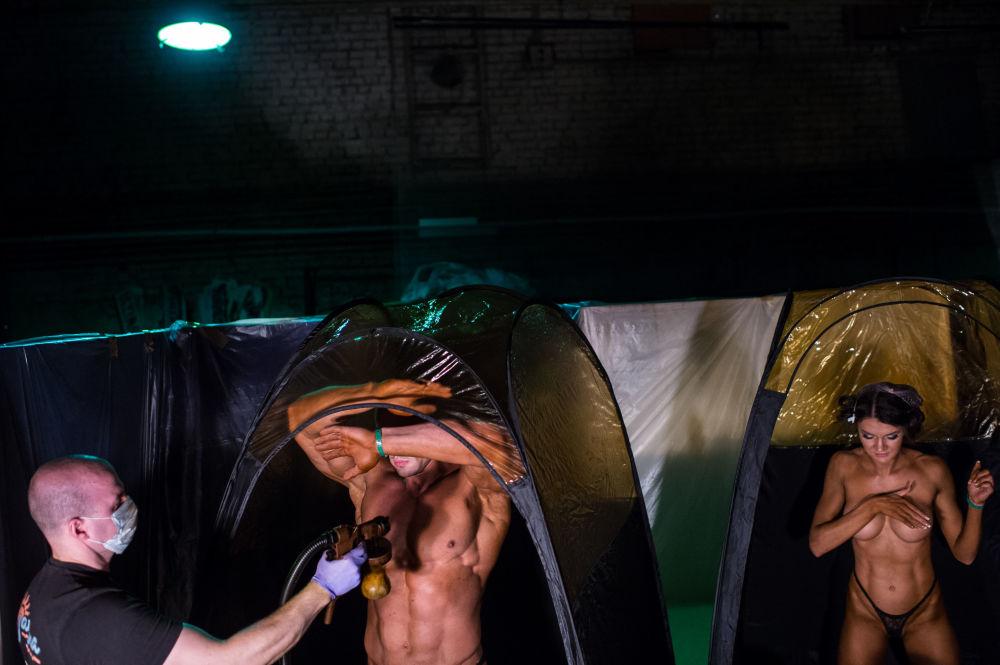 مسابقة كمال الأجسام في المدن الروسية - بطولة كمال الأجسام في مدينة أومسك