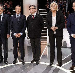 المرشحون في الانتحابات الفرنسية