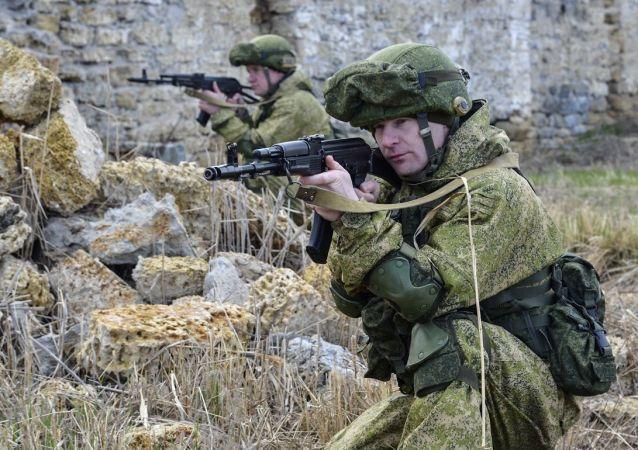 قوات الدفاع الروسية