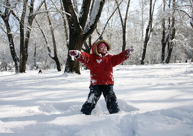 الثلوج في روسيا